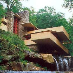 10.- F. Lloyd Wright. Casa de la Cascada