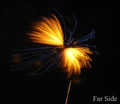 Angel fireworks