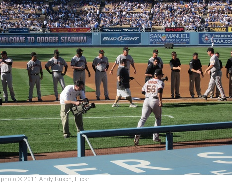 'Giants starting lineup and staff' photo (c) 2011, Andy Rusch - license: http://creativecommons.org/licenses/by/2.0/