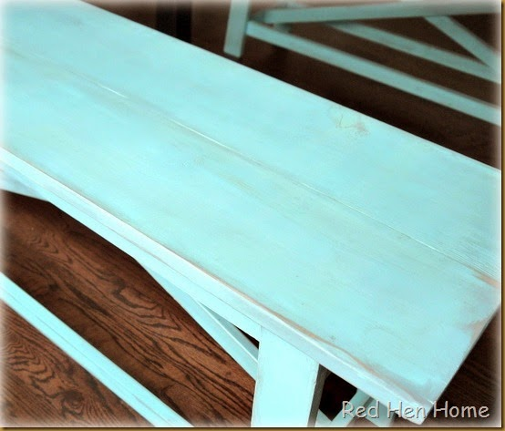Kim's Farmhouse Table 009