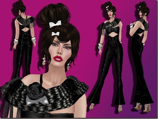 aDiva Couture Monochrome JumpsuitComplete