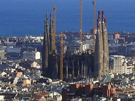 Obiective turistice Barcelona: Sagrada Familia