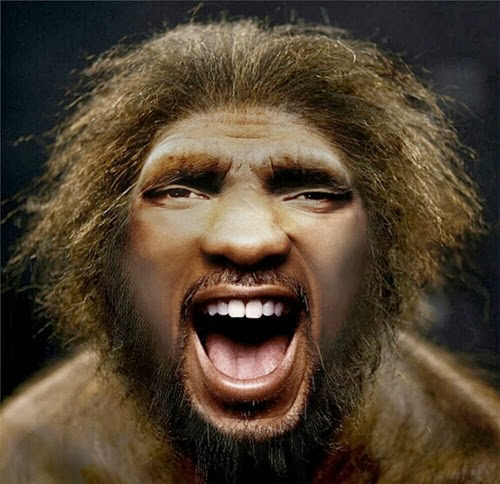 Neanderthal Will Smith