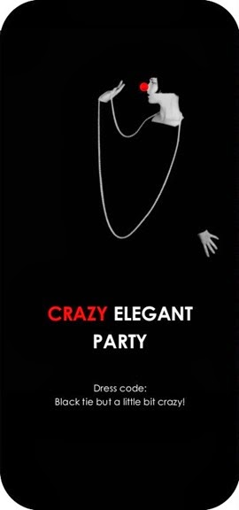 Crazy elegant party (Invito)