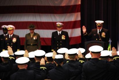 Mark Navy OCS Grad 6