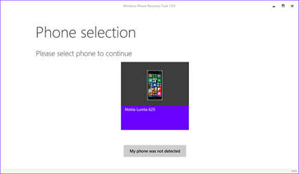 windows phone software recovery tool
