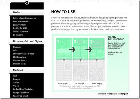 Instrucciones de uso de la plantilla-web Laker