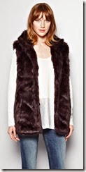 Great Plains Oslo Faux Fur Gilet