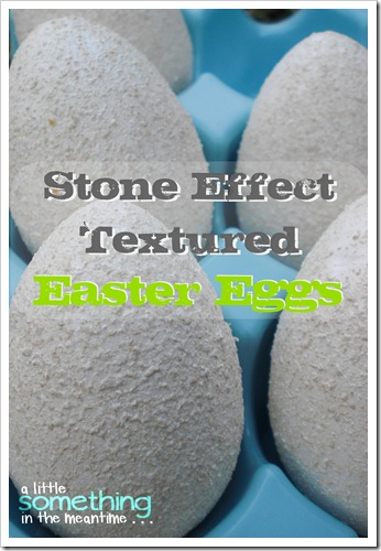 Stone Effect Textured Eggs Banner