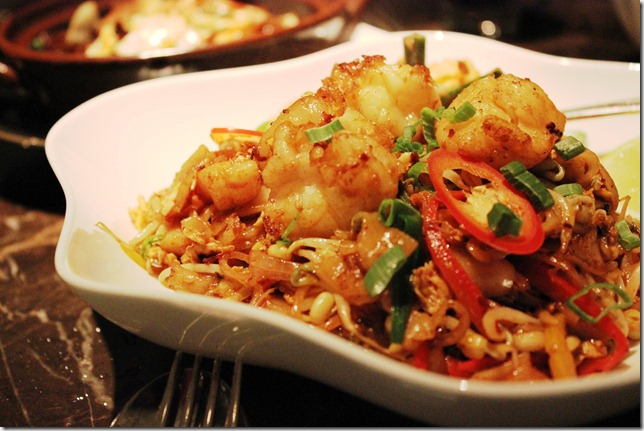 seafood penang noodles