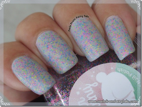 Glitter Bunny - Flip Flop Madness swatch 5