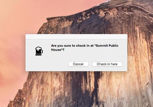 Foursquare Swarm client mac