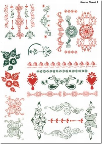 Henna art to print pages-1