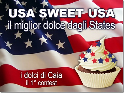Usa sweet Usa il miglior dolce dagli States