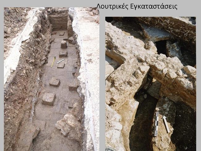 Αντιστήριξη και προστασία του κρηναίου οικοδομήματος στη θέση «Λουτρό» Σάμης Κεφαλονιάς.