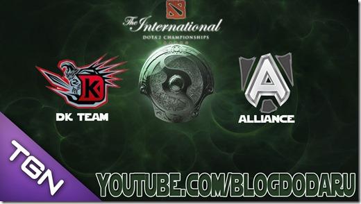 Dota 2: Alliance x DK - The International Championships 2013 - TI3 - 3 Round