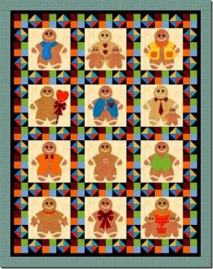 Ginger Bread Quilt