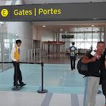 Pearson Airport in Toronto, Ontario, Canada