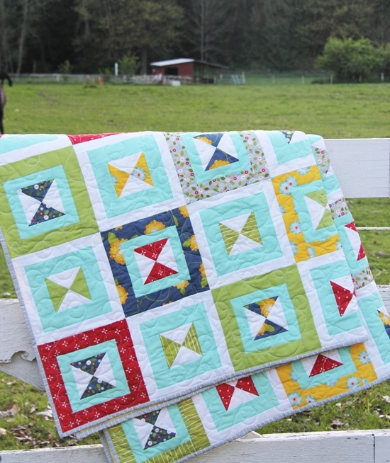 Dixie Quilt Folded