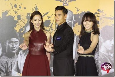 2014.11.26 Eddie Peng during Rise of the Legend - 彭于晏 黃飛鴻之英雄有夢 台北 08