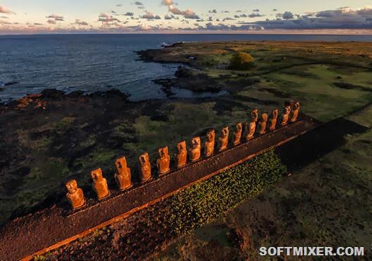 Всего странных статуй на острове Пасхи насчитывается 997