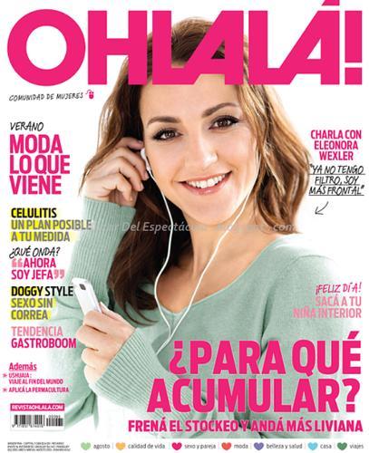 eleonora wexler en revista ohlala argentina agosto 2013 On revistas de espectaculos de argentina