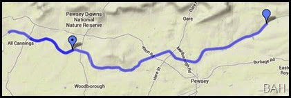 map Wootton Rivers 2