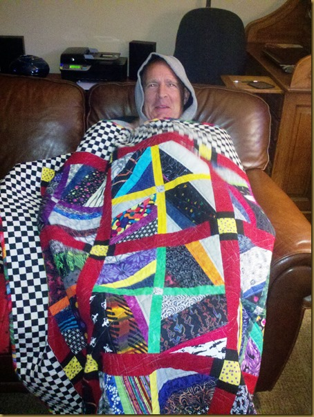 vic in anns quilt