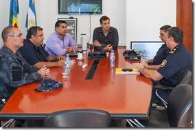El encuentro sirvió para planificar tareas de prevención en el distrito