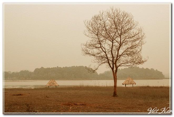 Cảnh sắc mùa đông quyến rũ ở Sơn Tây