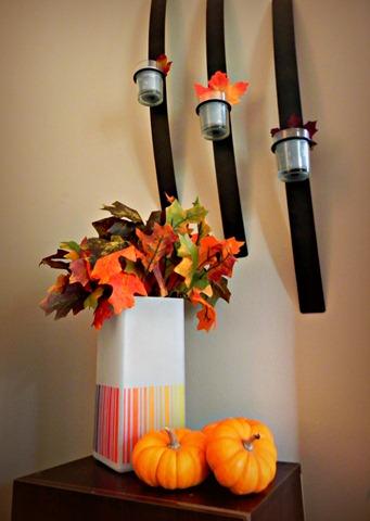 ombre lamp vase