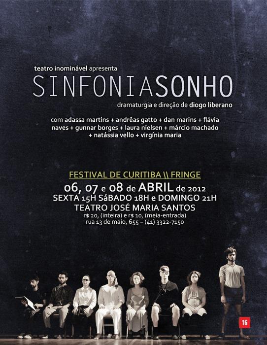 SINFONIA SONHO no Festival de Curitiba