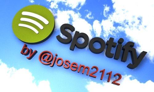 Widget Spotify para blog - Imagen Inicial