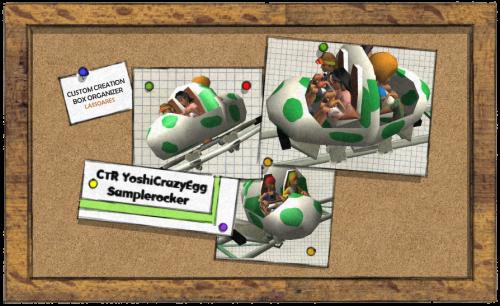 CTR YoshiCrazyEgg (Samplerocker) lassoares-rct3