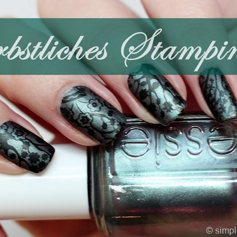 herbstliches Stamping mit Moyou Mother Nature