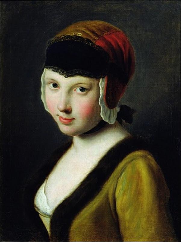 Rotari, Femme au masque noir
