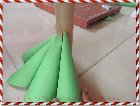 Paper Christmas tree 7