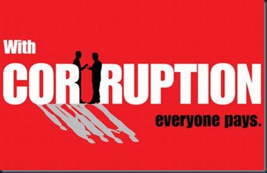 with corruption