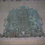 british coat of arms downtown toronto in Toronto, Ontario, Canada