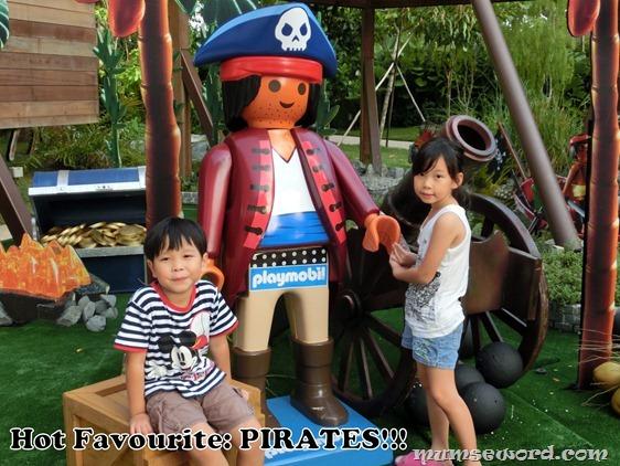 Playmobil Pirates Lifesize