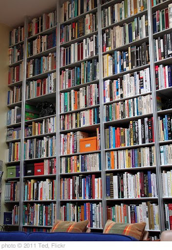 'Wall of Books' photo (c) 2011, Ted - license: http://creativecommons.org/licenses/by-nd/2.0/