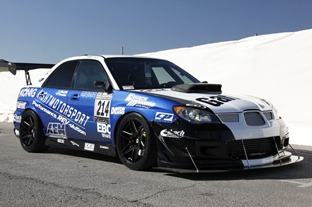 Oh, SEMA…Subaru STI Looks Like the Perfect Snowplow