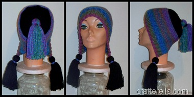 tassel hat collage