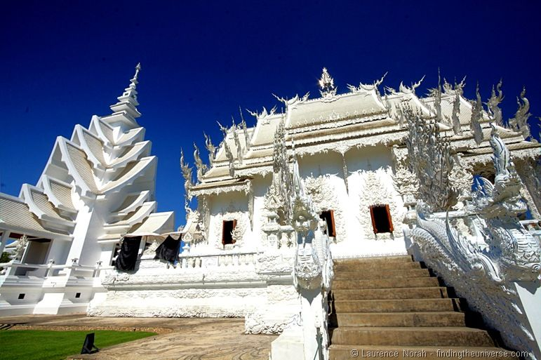 Chiang Rai White temple Wat Rong Khun Thailand