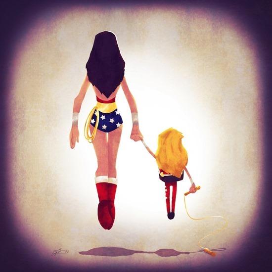 Super heróis em família 08