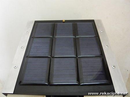 Rekacipta.net - solar panel yang telah siap