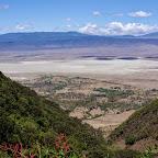 Ngorongoro-Krate, Blick in die Caldera © Foto: Judith Nasse | Outback Africa Erlebnisreisen