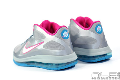lebron9 low fireberry 10 web white The Showcase: Nike LeBron 9 Low WBF London Fireberry