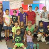 WBFJ Cici's Pizza Pledge - Trinity Elementary - Ms. Barham's 3rd Grade Class - Archdale - 10-15-14