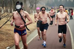 【组图】重度雾霾令北京窒息